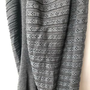 All Saints Tops - All saints grey knit asymmetrical top size 0